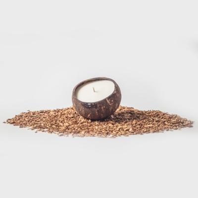 비사비 소이왁스 코코넛캔들- 프랜지파니